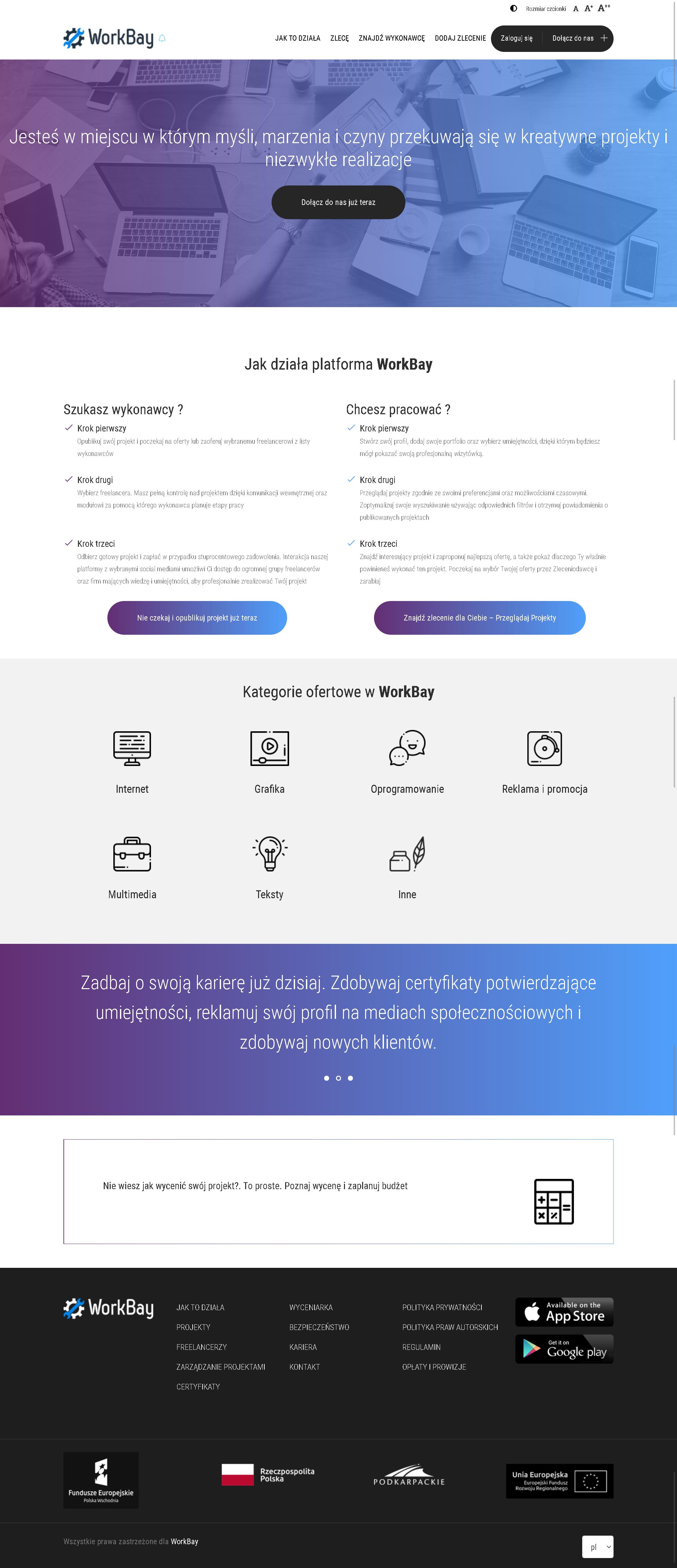 WorkBay - portal pośrednictwa pracy